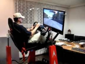 Gaming Setup Simulator by Best Simulation Setup Gaming For Racing Game Youtube