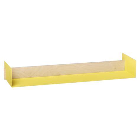 Yellow Shelf by Leo Naknak Beam Wall Shelf Large Yellow
