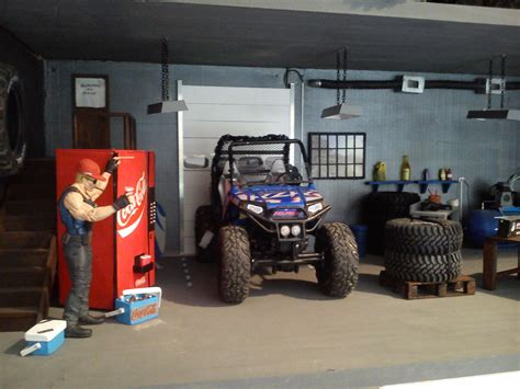 of the new for the garage diorama 1 10 scale crawler rc