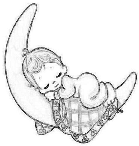 coloring pages sleeping baby 24 sleeping baby angel clipart clip art library
