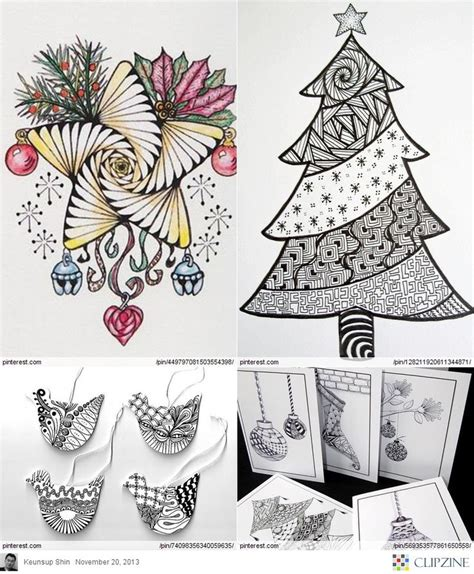 zentangle pattern collection 1000 images about drawing christmas on pinterest