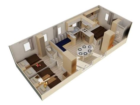 location mobil home 3 chambres location mobil home avec terrasse 8 pers 3 chambres