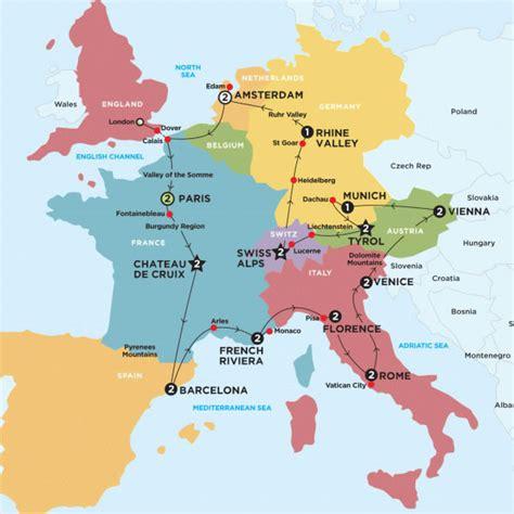 amsterdam netherlands map europe european escapade contiki or amsterdam