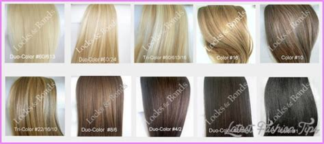 latest hairstyles color chart blonde hair color shades chart latestfashiontips com