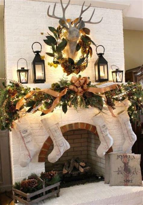 Winter Door Decorating Ideas - 30 adorable indoor rustic christmas d 233 cor ideas digsdigs
