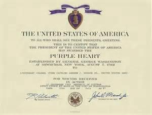 purple citation template awards certificates citations and diplomas war