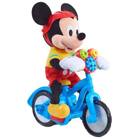 Mickey Mouse Clubhouse by Mickey Mouse Clubhouse Boppin Bikin Mickey Mouse Plush