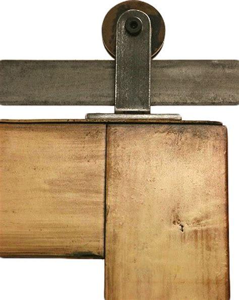 Contemporary Barn Door Hardware Top Mounted Barn Door Hardware Modern Barn Door Hardware Salt Lake City By Rustica Hardware