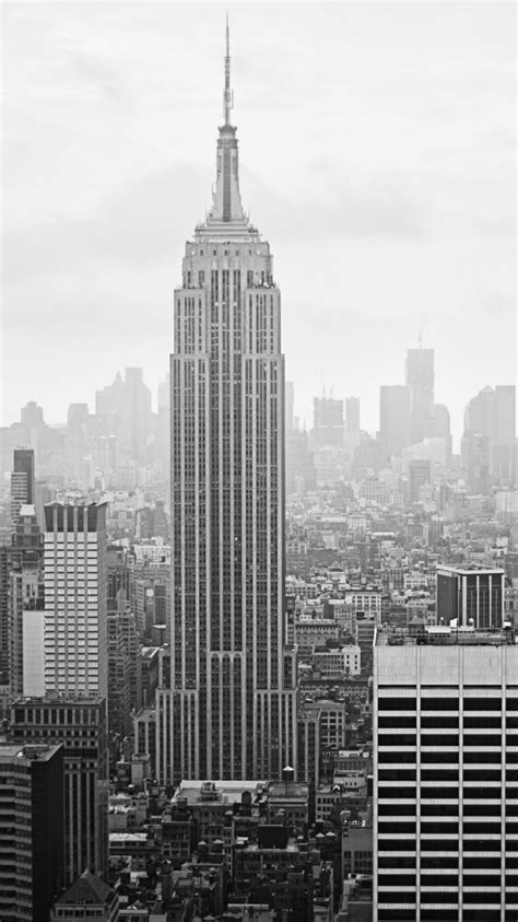 new york iphone wallpaper black and white tap and get the free app stylish empire state building