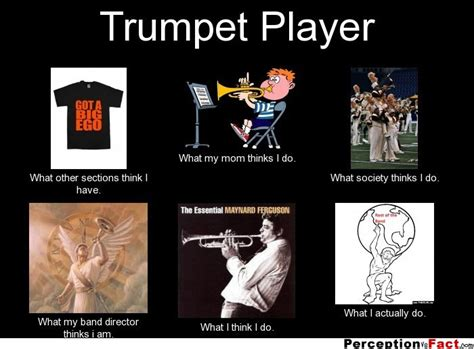 Trumpet Player Memes - what i do meme band director