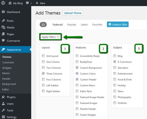 theme c names how to install a new theme for wordpress hosting