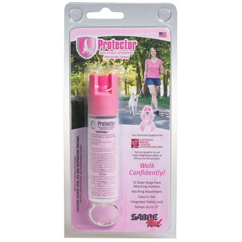 pepper spray for dogs pink protector spray with key ring sabre