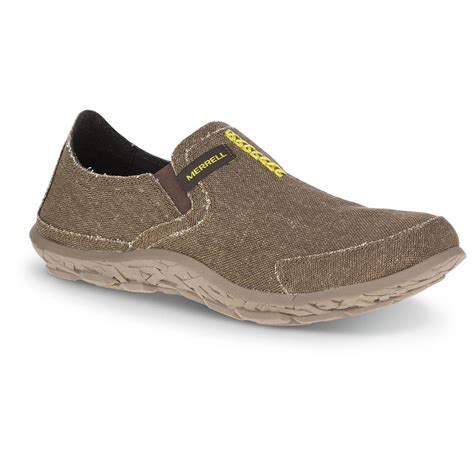mens canvas slippers merrell s slipper shoes 665554 casual shoes at