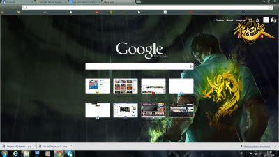 Theme Google Lee Sin   lee sin chrome theme themebeta