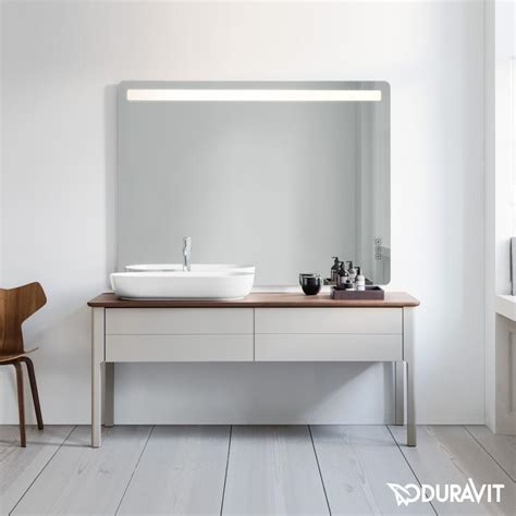 Duravit Luv vanity unit for console, with 2 pull out