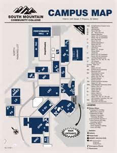 south college map cus map