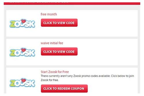 deals on zoosk membership