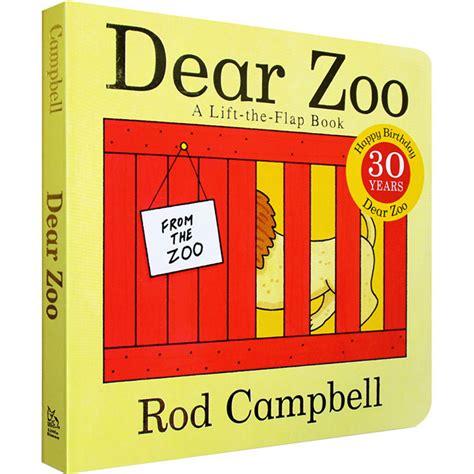 querido zoo un libro original english board book dear zoo hard card flap book rod cbell 0 3 kids children reading