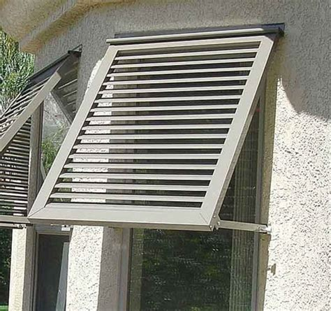 exterior metal window awnings image gallery shutter awnings