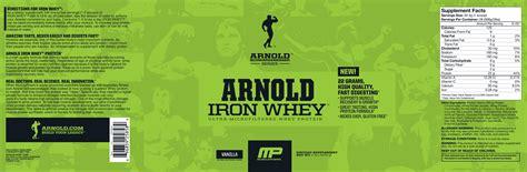 Iron Whey iron whey arnold series de musclepharm an 225 lisis y