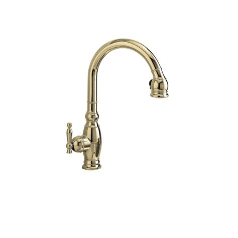 polished nickel kitchen faucets shop kohler vinnata vibrant polished nickel 1 handle pull