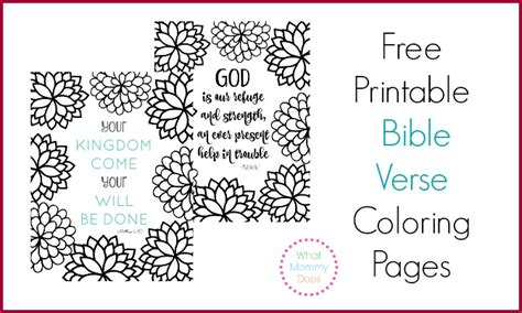 free printable scripture verse coloring pages romans free printables what mommy does
