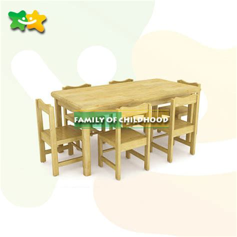 study table for kindergarten kindergarten wooden table library study table set for
