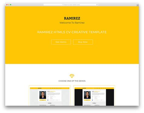 free personal site template 20 best free personal website templates for professionals 2018