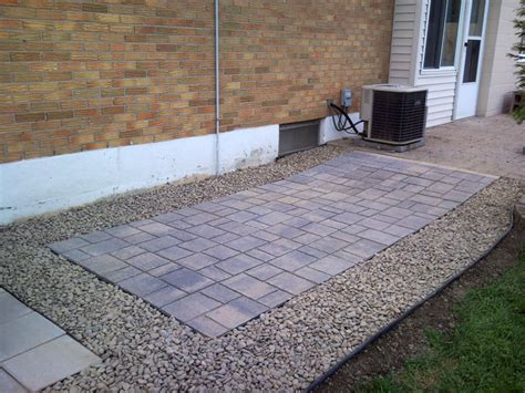 Plastic Pavers For Patio Emsco 16 In X 16 In Plastic Plastic Patio Pavers