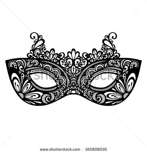 mens masquerade mask template beautiful masquerade mask vector patterned design