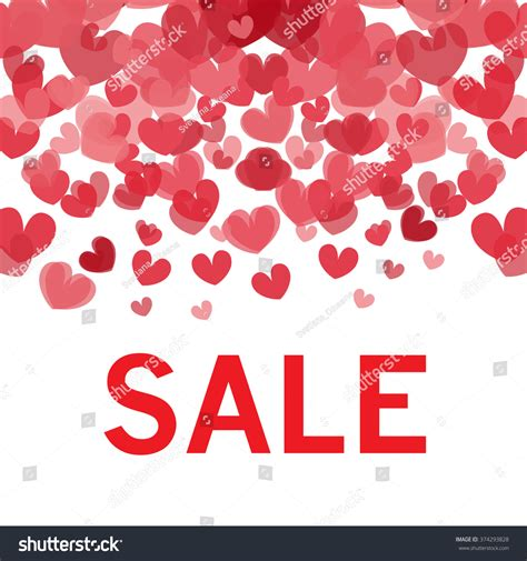 sale text valentines day badge tag stock vector 374293828