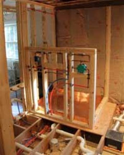 Plumbing In Exterior Wall by How To Successfully Install Shower Plumbing In