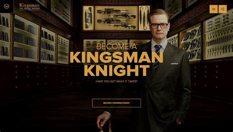 film kingsman 20th century fox gamifies movie trailer to promote