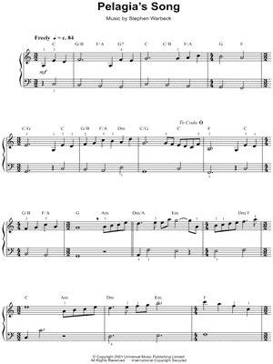 theme music captain corelli s mandolin free mandolin sheet music tab sheet music score chords