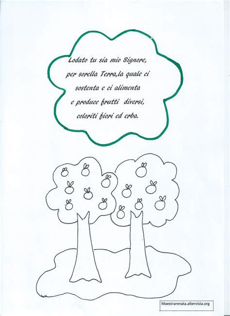 cantico delle creature testo italiano per bambini il cantico delle creature di san francesco maestrarenata