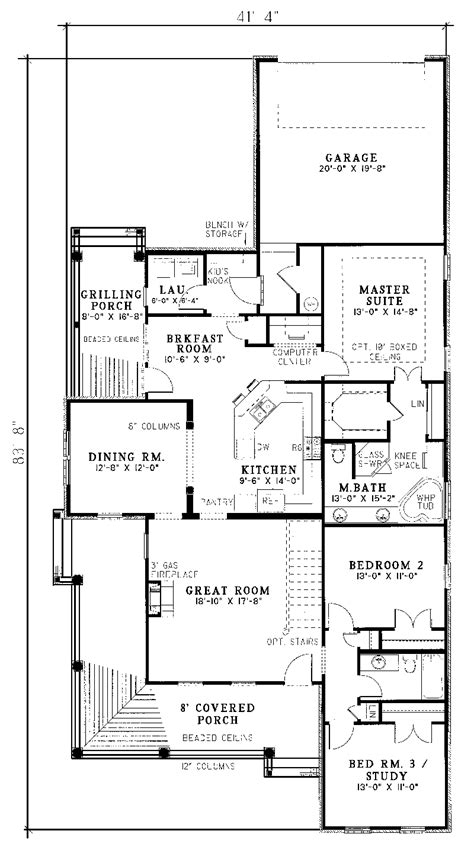 houseplans and more shackelford country home plan 055d 0049 house plans and more