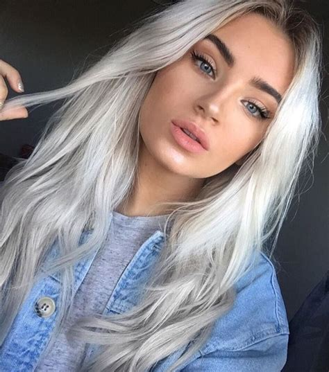 add darker roots to bleached hair 574 best bleached blonde with black eyebrows images on