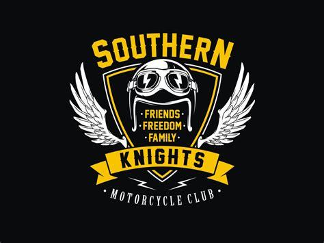 design logo club bold playful logo design for southern knights mc by