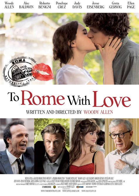 film love film to rome with love poster and images