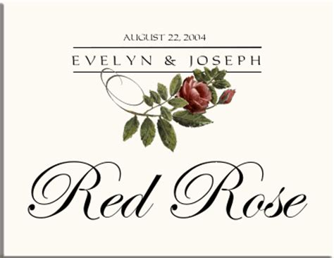 rose themed names floral wedding theme floral floral wedding stationery