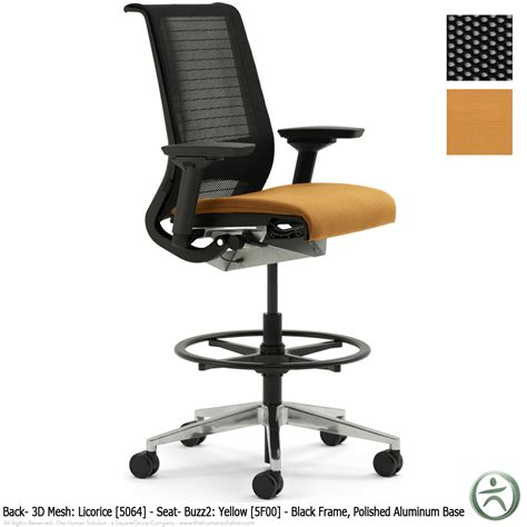 Steelcase Think Chair Review by Shop Steelcase Think Drafting Stools With 3d Knit Back