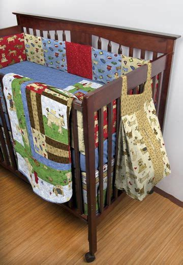 Bow Wow Cribs by Bow Wow Buddies Crib Set Ptn733 Kwik Sew Based On Bow