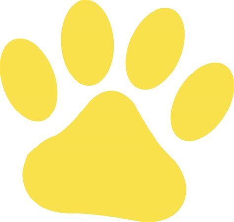 paw print clip paw print free images at clker vector clip royalty free