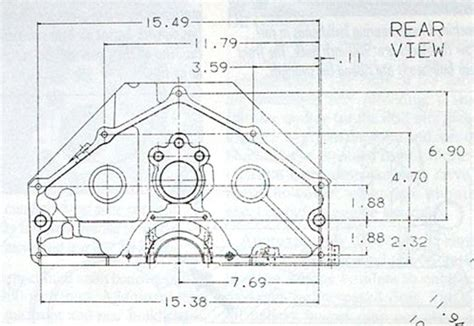 bolt pattern drawing little engine little tires little nitrous the
