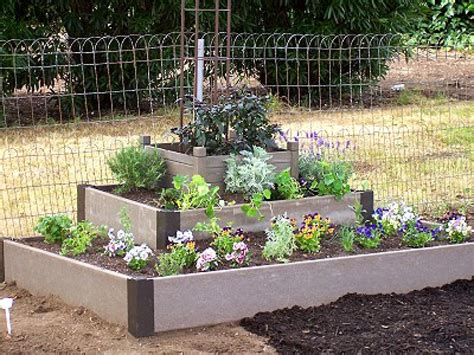 Raised Flower Bed Ideas Flower Idea Raised Flower Gardens