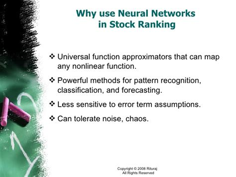 pattern classification using neural networks ppt stock ranking a neural networks approach