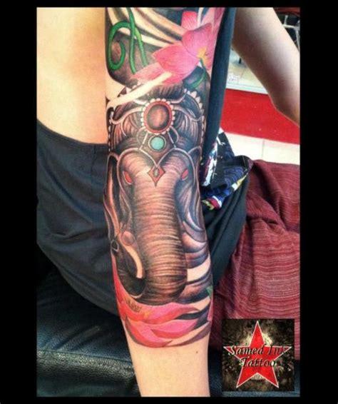 tattoo arm elephant arm elephant tattoo by samed ink tattoos