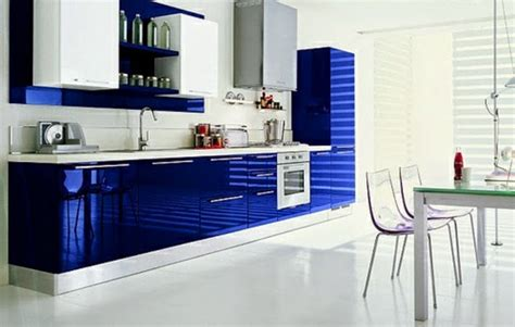 Blue Kitchen Decorating Ideas by 15 Modern Kitchen Design Ideas In Bright Color Combinations