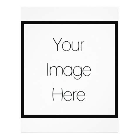 Blank Create Your Own Custom - design your own custom gift blank flyer zazzle