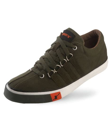 sparx green casual shoes price in india buy sparx green